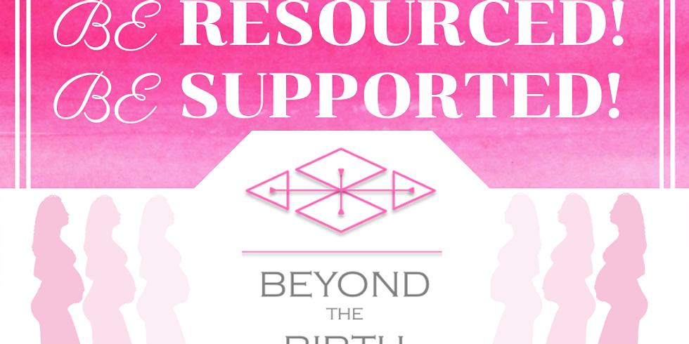 """Beyond the Birth"" workshop: Wednesdays, AUG 4, 11, 18 & 25; 6 - 8 pm"