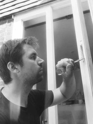 Timber door repairs
