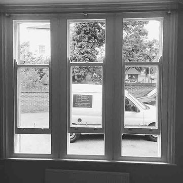 Beautiful new timber sash windows installed at a home in Tunbridge Wells, by Forster Timber Windows
