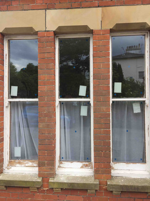 New double glazing added