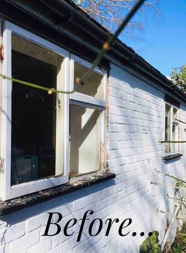Rotten Sash Windows needing replacement