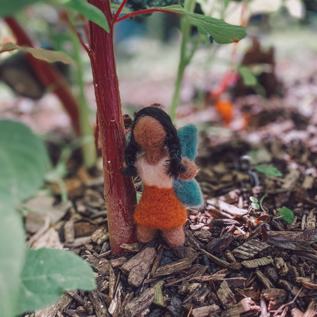 ~DIY Hadas de Fieltro~ Felted Fairies