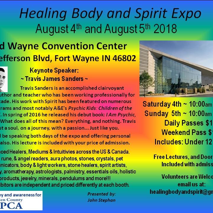 Healing Body & Spirit Expo