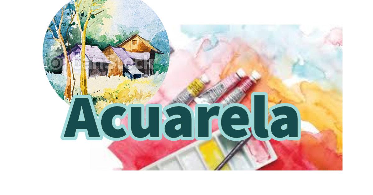ACUARELAS - Octubre - 7+ años