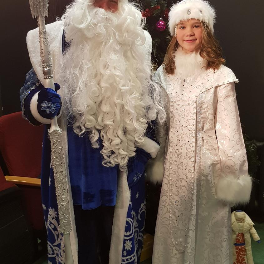 Дед Мороз и Снегурочка-внучка 2018