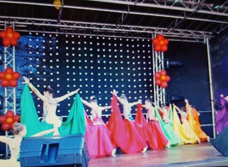 Выступление на осенней ярмарке в Маарду