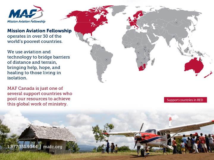 Mission Aviation Fellowship - About