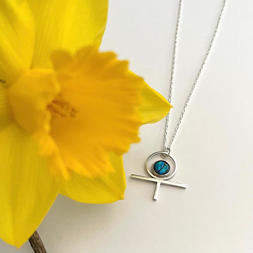 The rising sun necklace