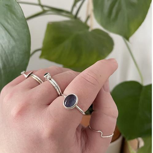 Fluorite ring