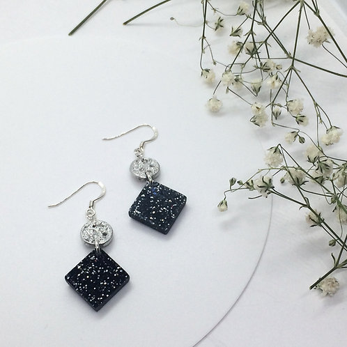 Tinymoon & Starry Night earrings