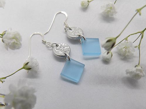 Ophelia diamond shape earrings