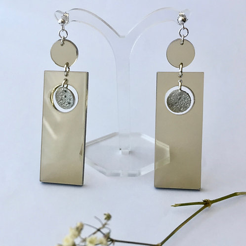 Capella brown earrings