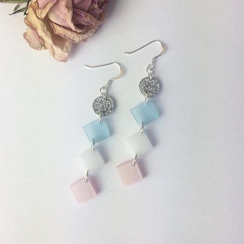 Trio dangly earrings