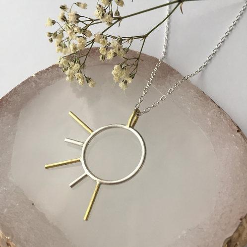 Comet necklace