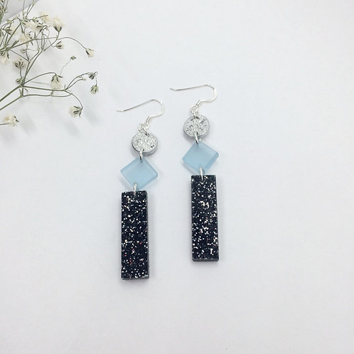 Starry Night & Ophelia earrings