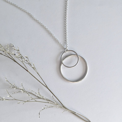 Silver Eclipse necklace