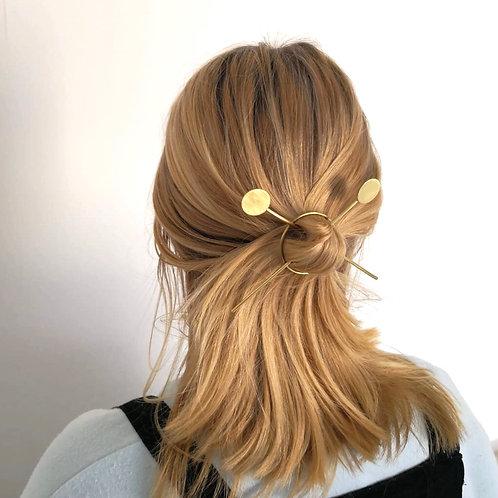 Chopstick style hair pin