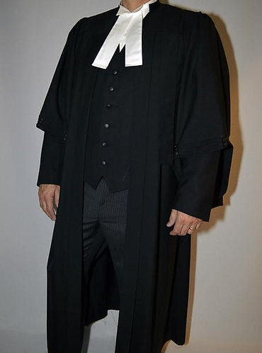Men's Barrister Gown