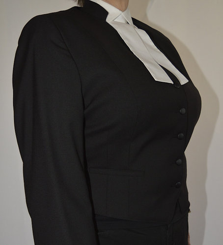 Women's Barrister Waistcoat - 100% Tropical Weight Wool