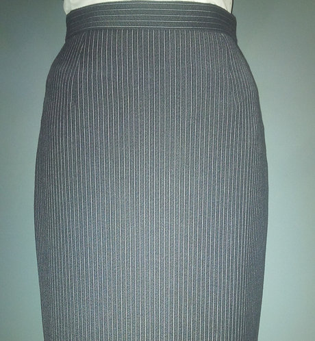 Women's Court Stripe Pencil Skirt