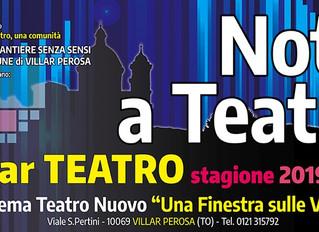 """Risultati della rassegna Notti a Teatro: quando il teatro si fa """"Comunità""""."""