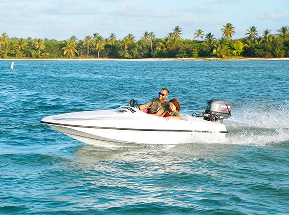1 pax Double Speed Boat & Snorkel