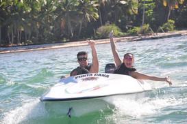 Punta Cana speed boat