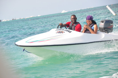punta cana speedboat