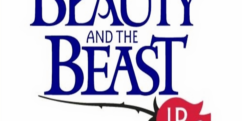 BEAUTY AND THE BEAST JR AUDITIONS