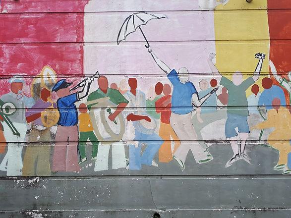 Treme mural