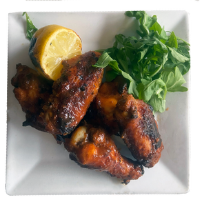 Wood Fired Wings  $11