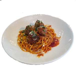 Spaghetti and Meatballs $17.00