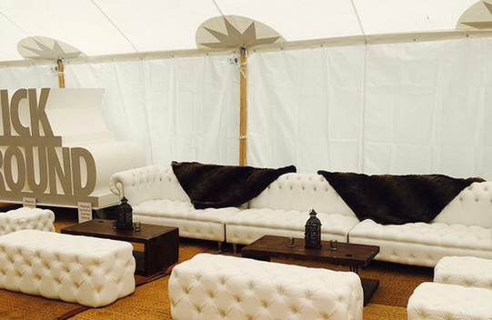 Sailcloth Marquee hire rustic or glam we