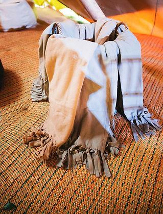blanket basket winter wedding party nort