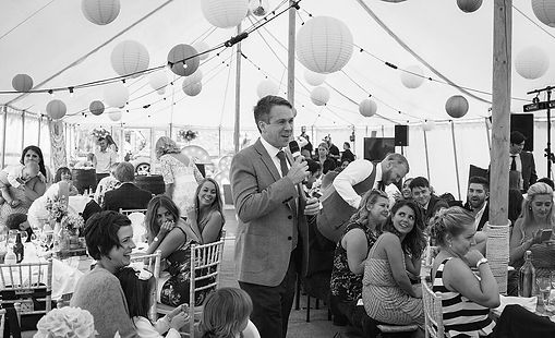 vintage marquee pa hire wedding speeches