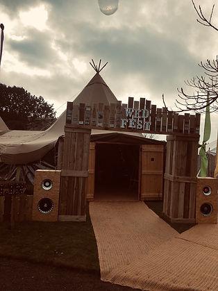 wed fest entrance