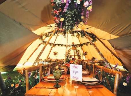 Great British Bash and The Unique Tent Company - the perfect romance