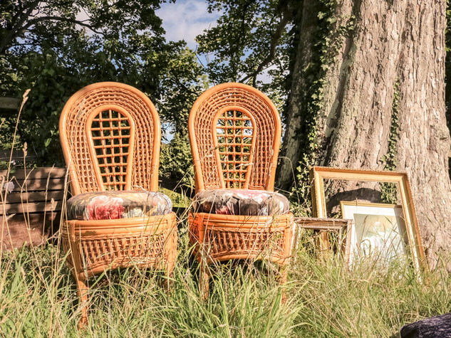 tipi ceremony chair outdoor wedding