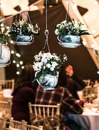Teapot interior decoration UTC
