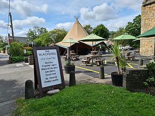 COVID tipi pubs restaurants outdoor spac