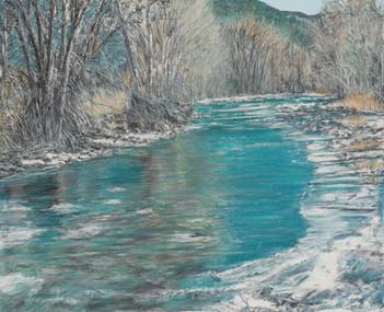 Montana's Millcreek Stream in Winter