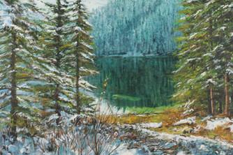 Cottonwood Lake Reflections