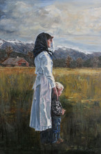 A Mother Looks to the Horizon