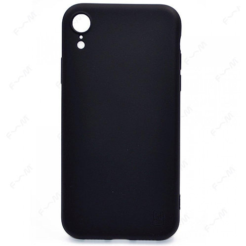Черный чехол  для iPhone Xr YOLKKI Rivoli