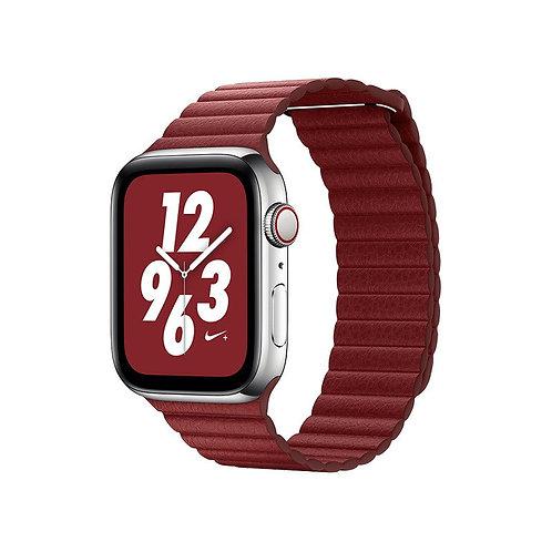 Ремешок кожаный COTEetCI Magnet Band для Apple Watch 42/44мм
