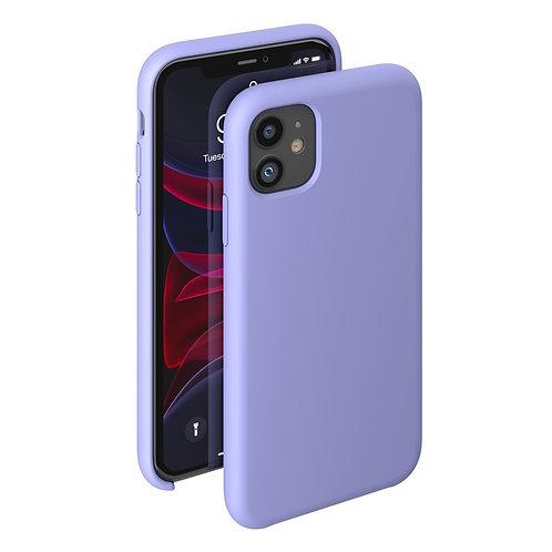 Чехол Liquid Silicone Case для Apple iPhone 11лавандовый