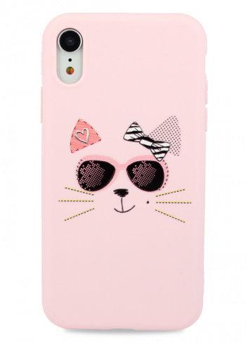 Чехол для iPhone XR Flossy силикон (CAT)