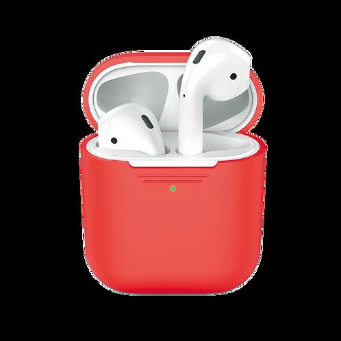 Чехол для AirPods, красный