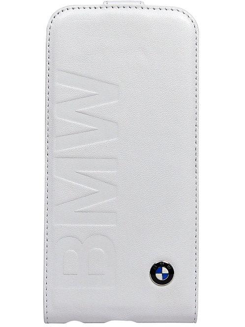 Чехол для смартфона BMW iPhone 6 Logo Signature Flip White