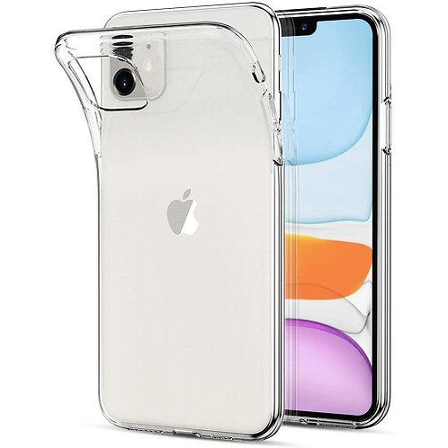Силиконовый чехол для iPhone 11 прозрачный